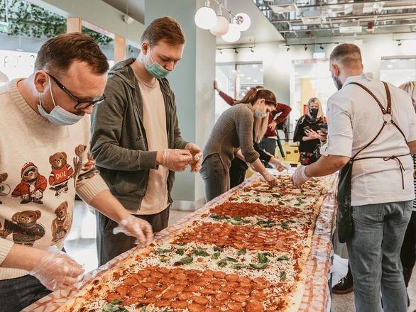 Самую большую пиццу в Нижегородской области приготовили в «Пастараме» - фото 4