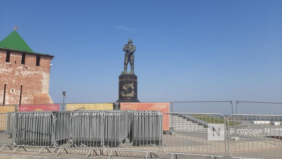 Чкаловскую лестницу снова закрыли для посещения в Нижнем Новгороде - фото 1