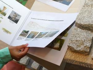 Информационный павильон о ходе благоустройства установили у парка «Швейцария»